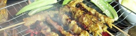 Món nướng - Campuchia